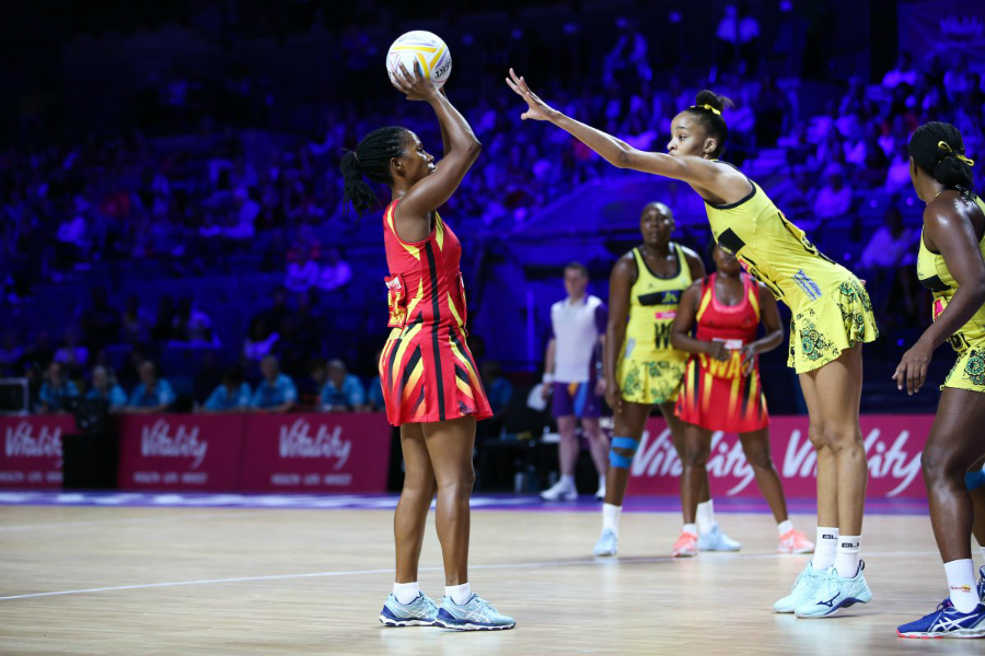 The She Cranes have now lost all their last three games at the Netball World Cup 2019. (PHOTO/File)