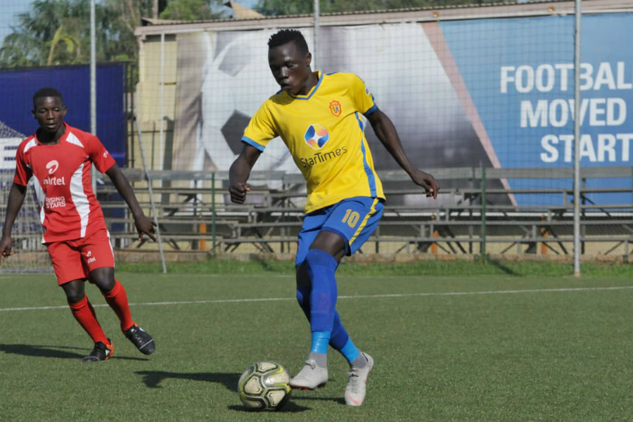 Anaku (10) is the FUFA Juniors League record top scorer.