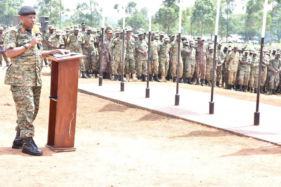 Lt Gen Wilson Mbasu Mbadi