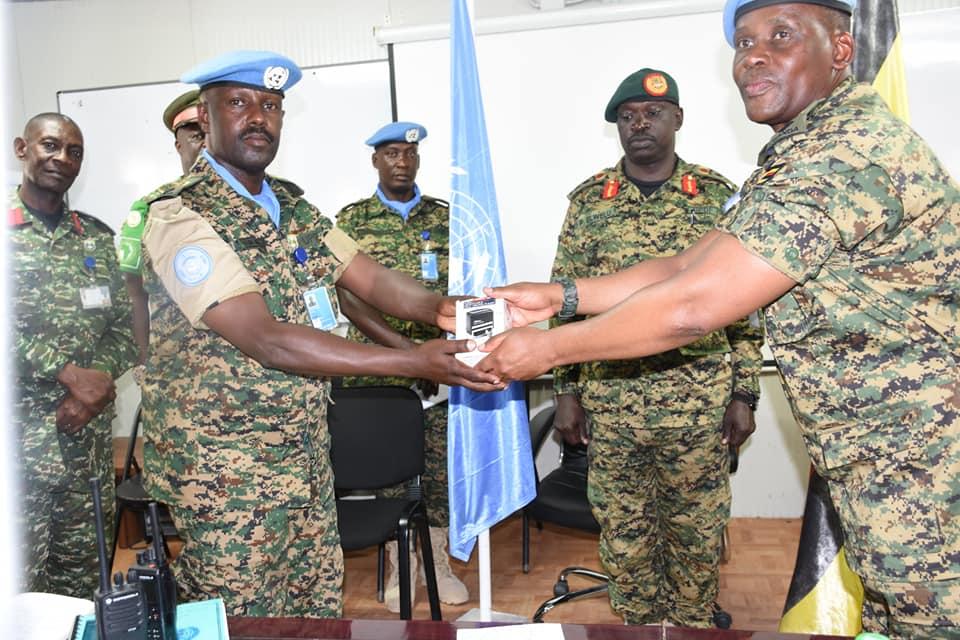 UPDF Commander Land Forces (CLF) Lt Gen Peter Elwelu