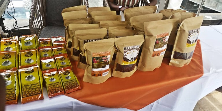 Some of the products of Zigoti Coffee Works Uganda Limited. The coffee firm has welcomed the Coffee Bill. (PHOTO/File)