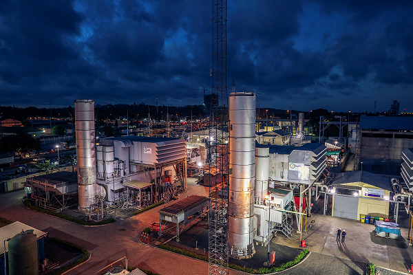 Songas Ubungo Power Plant provides more than 20 percent of the grid connected power in Tanzania; upgrade of three GE's LM6000PA and one LM6000PC Aero derivative gas turbines Improved Plant Efficiency and Reliability.