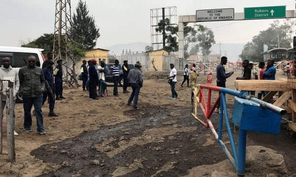 Rwanda has closed its boarder with Democratic Republic of Congo over Ebola. (PHOTO/Courtesy)