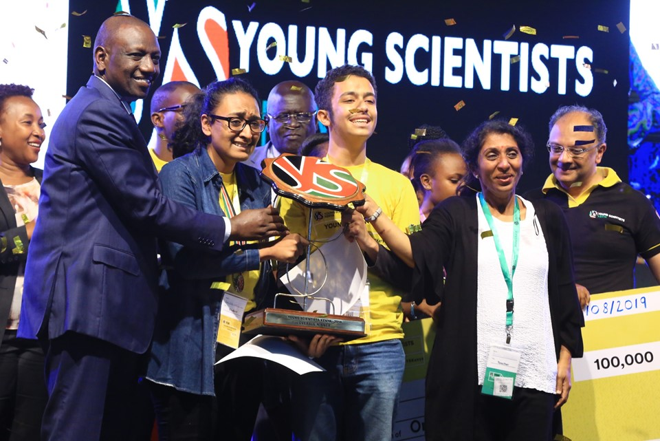 The second Young Scientists Kenya National Science and Technology Exhibition took place at the Kenyatta International Convention Centre in Nairobi from 3-7 August 2019