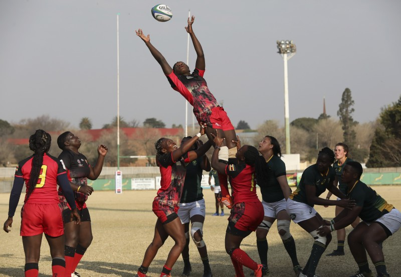 Rugby World Cup African Qualifiers: South Africa defeated Uganda on Friday in Johannesburg during the Rugby Africa Gold Cup. (PHOTO/Courtesy)