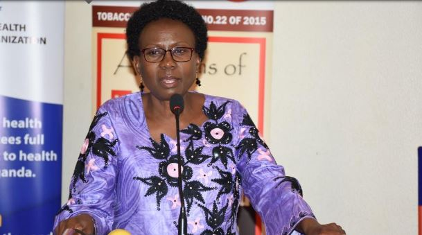 Health Ministry boss Jane Ruth Aceng at a function recently (PHOTO/File).