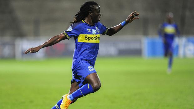 Kateregga joined Cape Town City from KCCA FC last year. (PHOTOS/Courtesy)