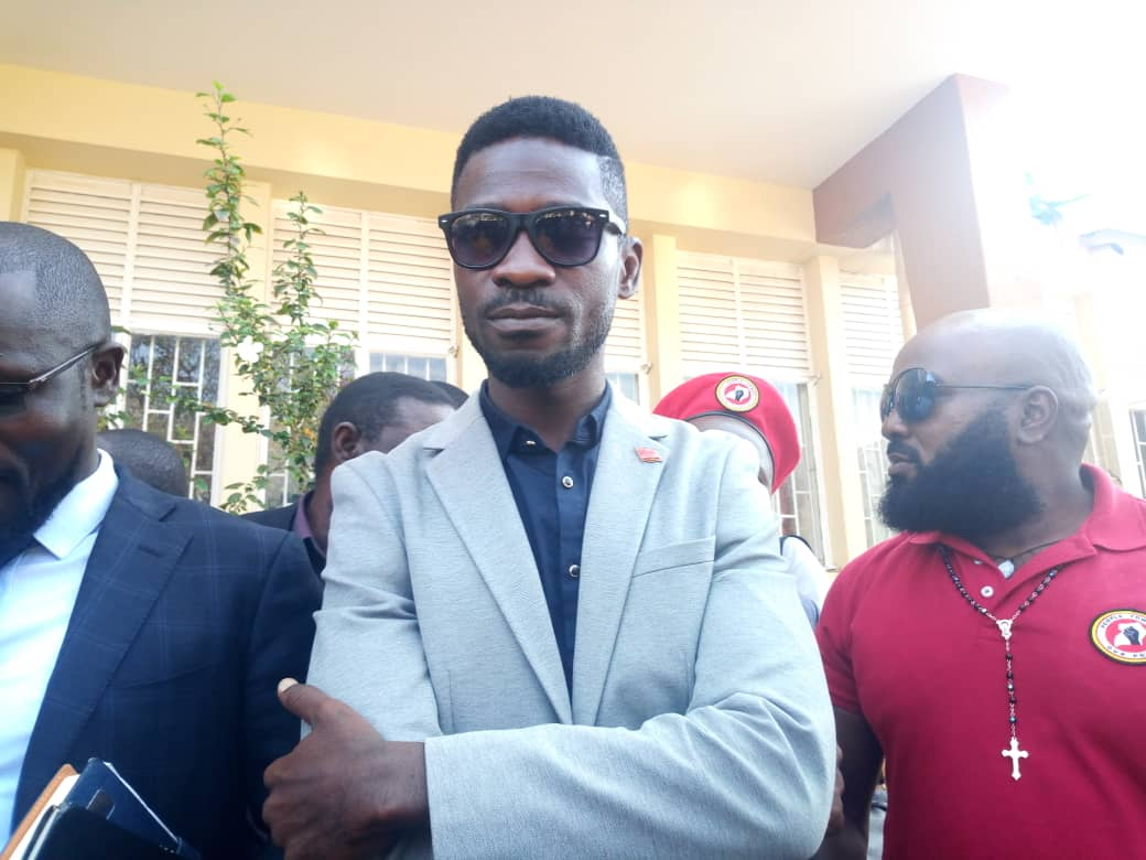 Bobi Wine has urged authorities in south African to put an end to acts of wanton violence. (PHOTO/File)