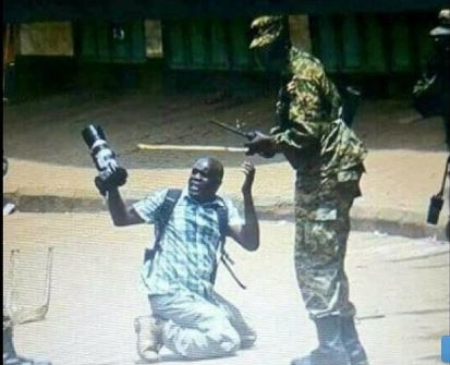 James Akena, a photojournalist attached to Reuters sues government over beatings by PDF soldiers. (PHOTO/File)