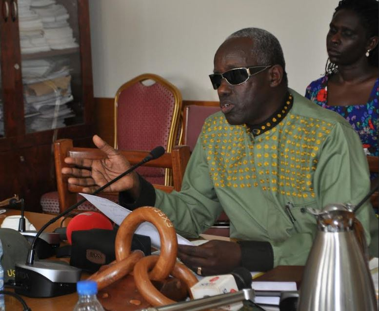 Minister of Security, Gen Elly Tumwine during a parliament session. (PHOTO/File)