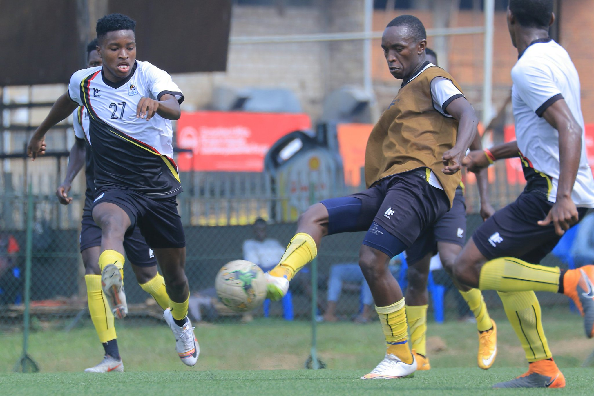 Uganda leads Somalia 3-1 from the first leg. (PHOTOS/Courtsey)