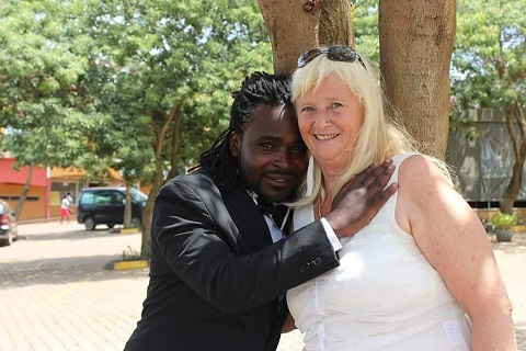 Guvnor Ace 28 marries fiancée Lisa 68 in Kampala.