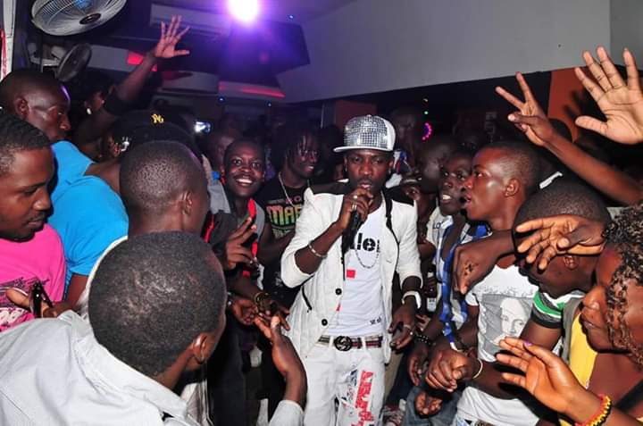 Music star cum politician Bobi Wine was one of the many that performed at Club Amnesia in its hey days. (PHOTO/File)