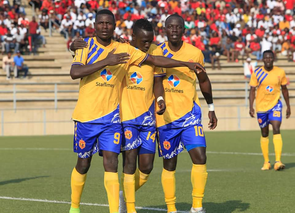 KCCA FC trail 2-3 from the first leg.
