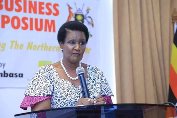 Trade minister Amelia Kyambadde officiated the opening of a three day symposium. (PHOTO/PML Daily)