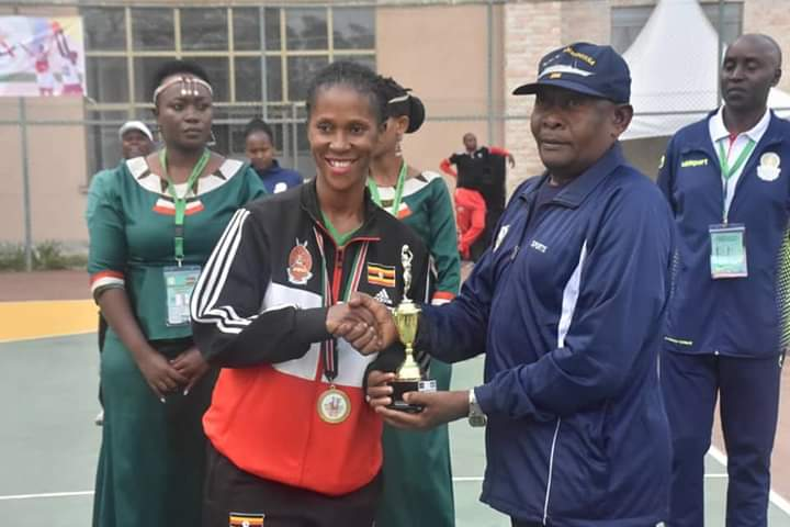 UPDF's Eunice Amuron was the best attacker, the second to Yvete Cyuzuzo of Rwanda as the best Setter and the third one to Damaris Chepkorom of Kenya as the most valuable player (MVP).