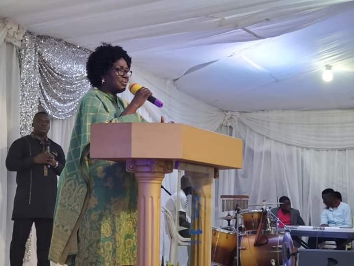 The speaker of Parliament Rebecca Kadaga officiated at annual healing festival. (PHOTO/Courtesy)