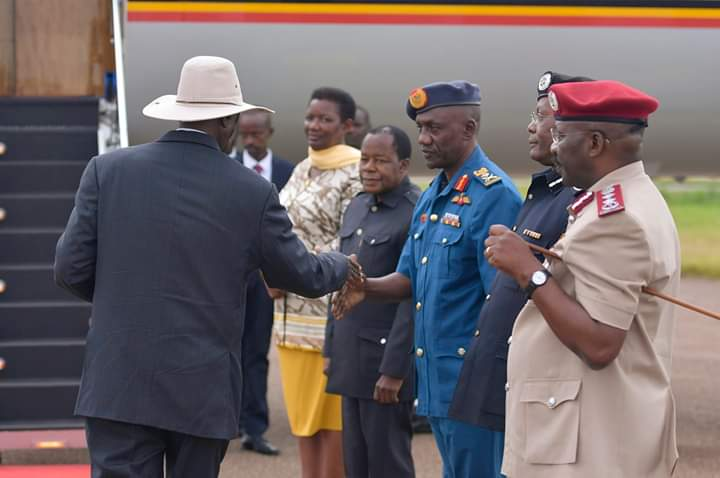 President Museveni has left for Japan to attend the seventh edition of the Tokyo International Conference for African Development (TICAD) summit. (PHOTO/PPU)