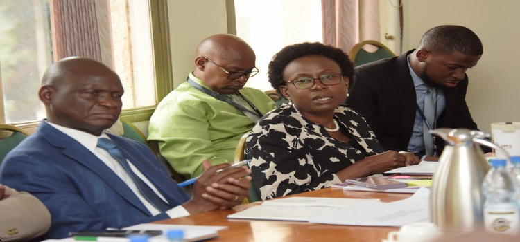 Hon Jane Acheng meeting committee on national economy to discuss the status of loans given to the healhty ministry (2)