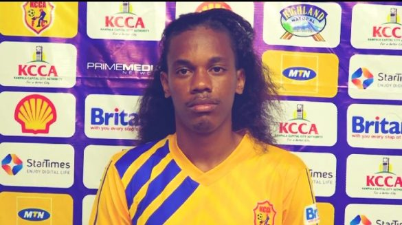Revita has signed a two year deal with KCCA FC. (PHOTOS/Courtesy)