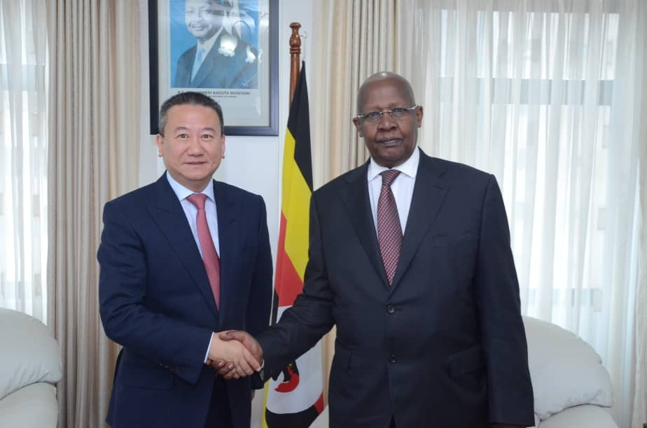 UN special envoy for the great lakes region pays a courtesy call on the minister of foreign affairs. (PHOTO/Courtesy)
