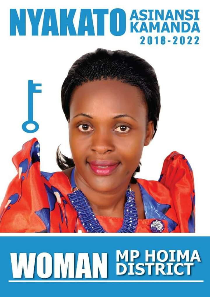 Ms. Nyakato Kamada has been fronted by FDC for Hoim Woman MP by election. (PHOTO/Courtesy)
