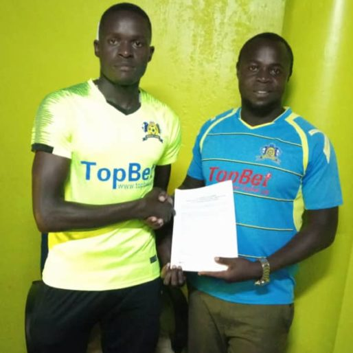 Adriko (left) has signed a one-year deal at the Ankole Lions. (PHOTO/Courtesy)