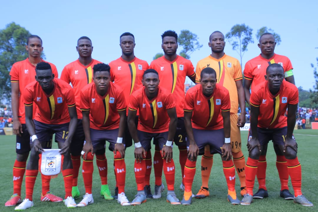 The Cranes team that started ijn the victory over Somalia last Saturday..