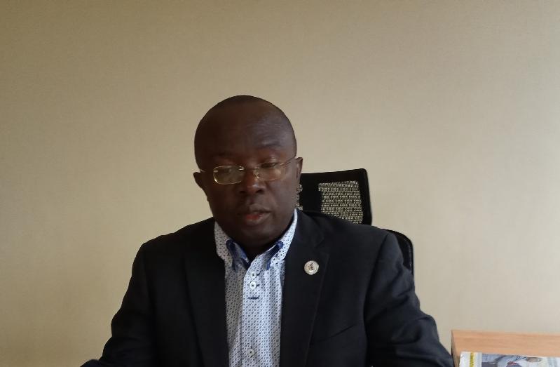Dr. Muhammad Kiggundu, the Manager Communications and international Relations at Makerere University on Friday. (PHOTO/Javira Ssebwami)