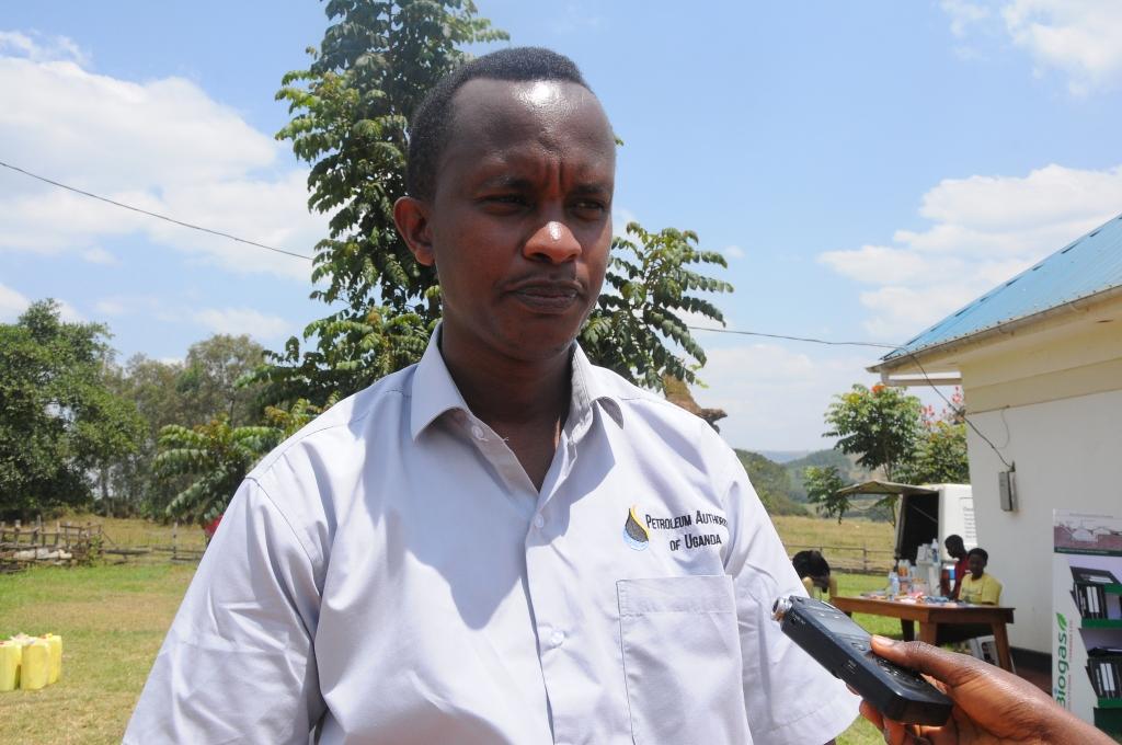James Musherure from Patroleum Authority of Uganda