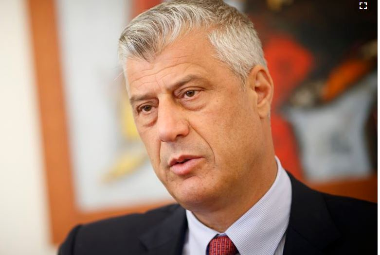 Kosovar President Hashim Thaci (PHOTO/File)