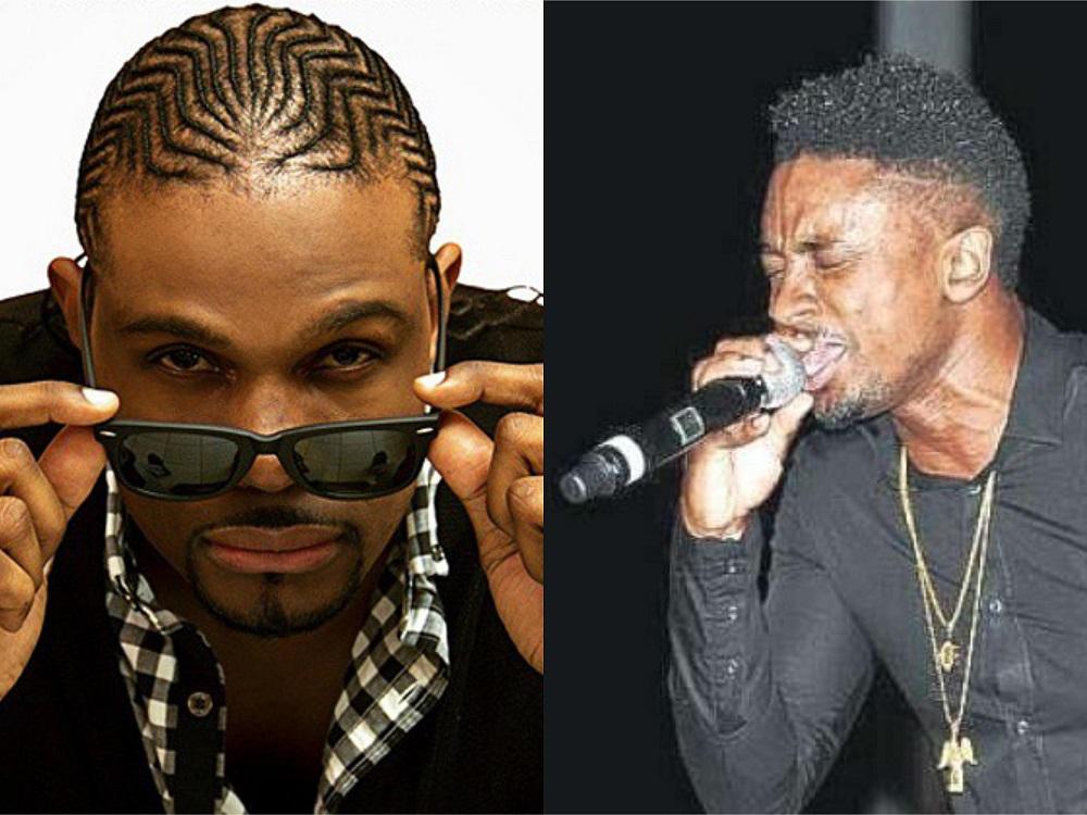 Jamaican reggae stars Christopher Martins, D-Major