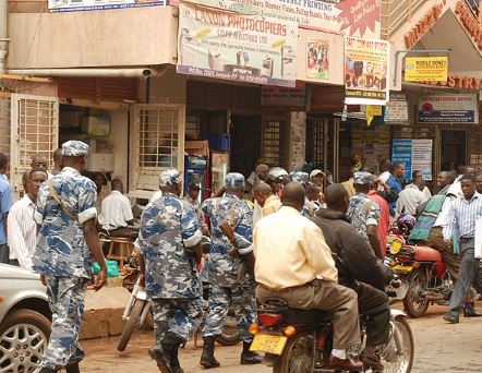 A joint operation involving Police and URA officers stormed Nasser road and arrest three in connection with printing fake URA documents. (PHOTO/File)