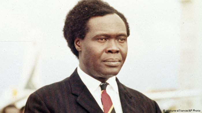 Apollo Milton Obote was a Ugandan political leader who led Uganda to independence in 1962 from British colonial administration