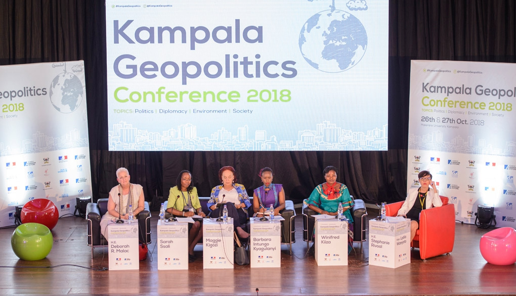 A panel discussion at the Kampala Geopolitics conference last year. Makerere University has been tipped to host the second edition. (PHOTO/File)