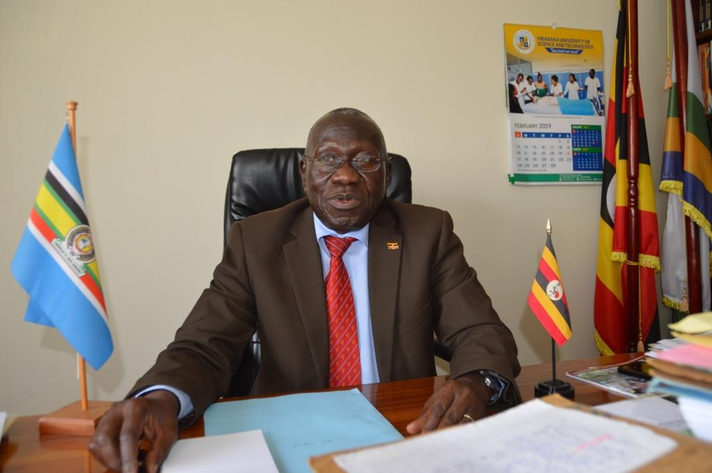 Prof. Obua Celestine, the Mbarara University Vice-Chancellor (PHOTO/File).