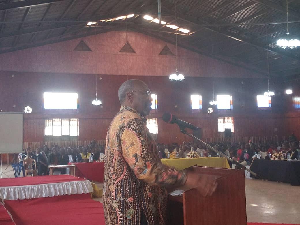 Rugunda addresses the youth