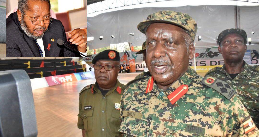 Maj Gen Timothy Sabiti Mutebile