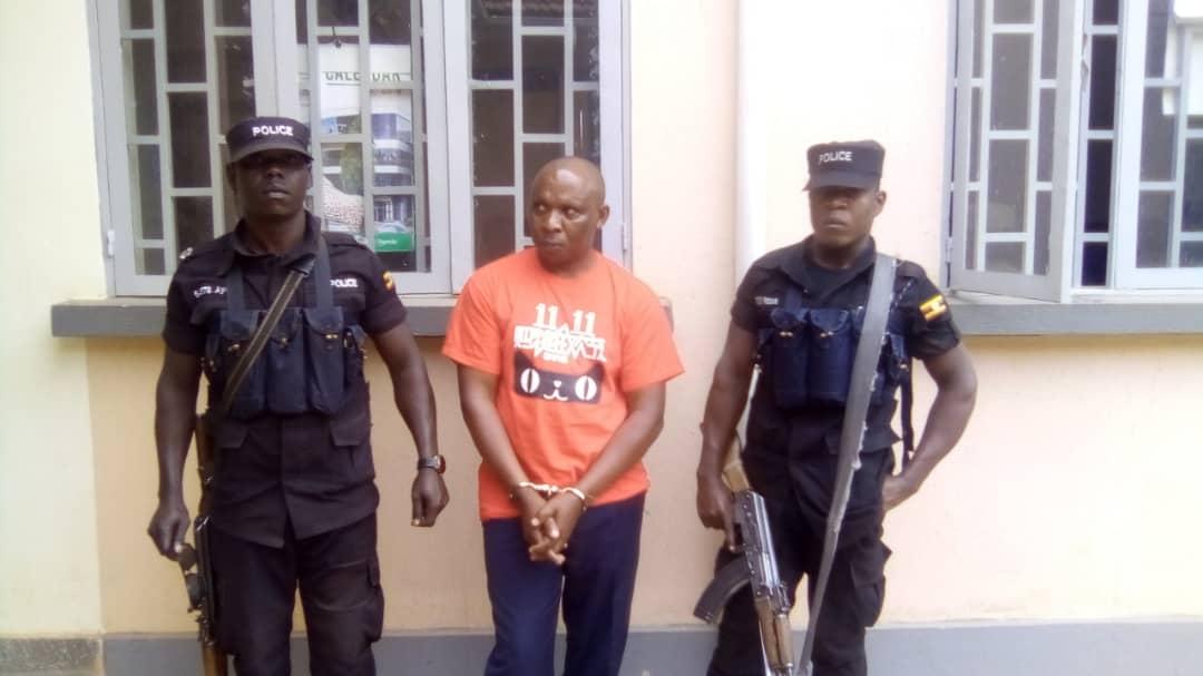 Tusasibwe after arrest