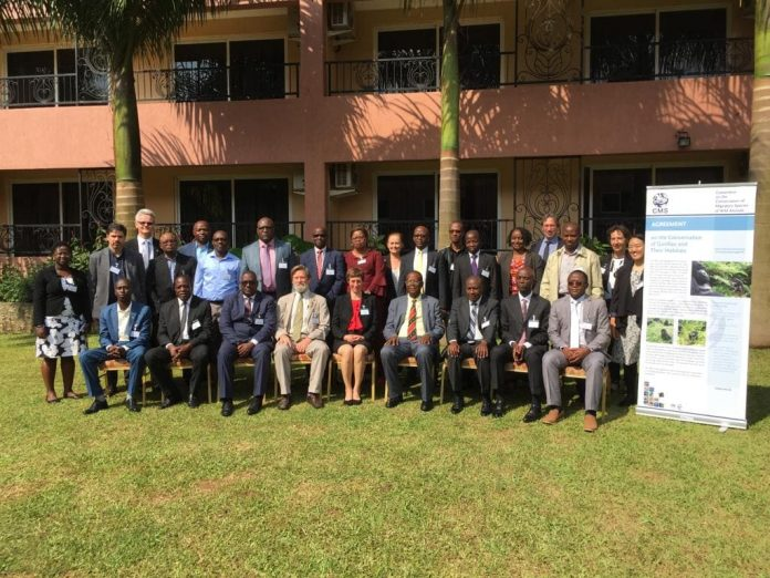 Delegates that attended the UN Gorilla meeting of Parties at Entebbe