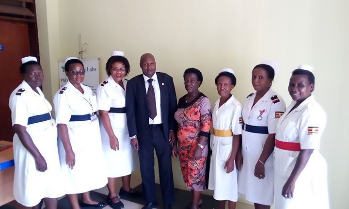 Uganda Nurses and Midwives want their