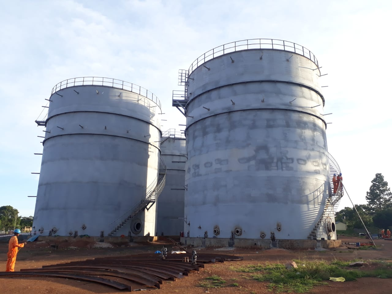 Uganda's strategic fuel storage terminal will be ready by 2020. (PHOTO/Courtesy)