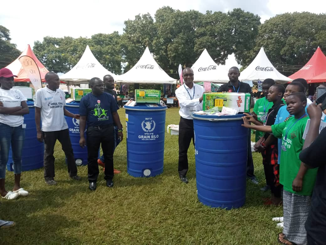 Best schools received Silo stankers from WPF, seeds and sprayers from NARO.