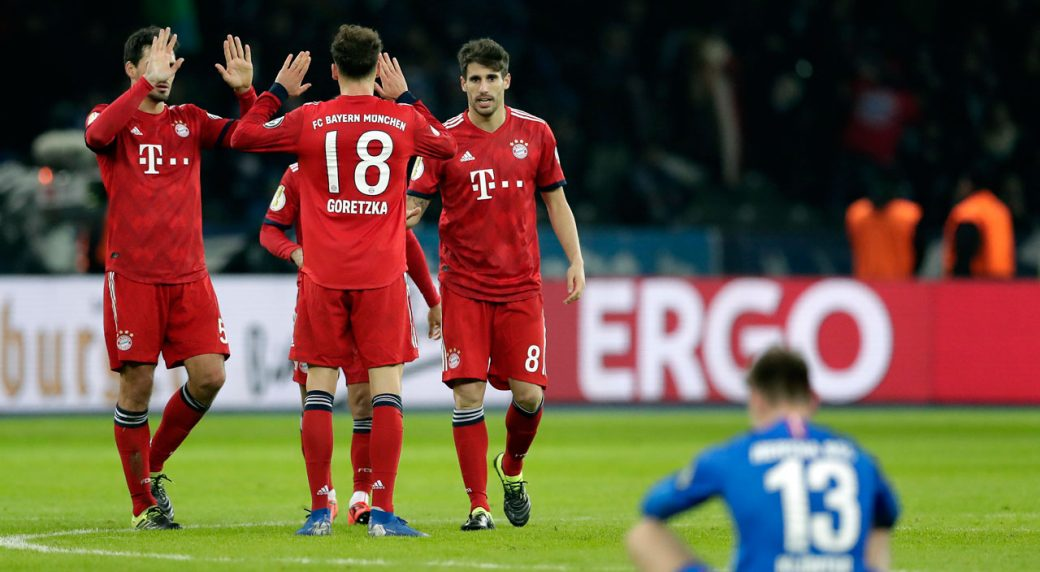 Bayern have lost onlt two of their games against Hertha since 2007. (PHOTO/Courtesy)