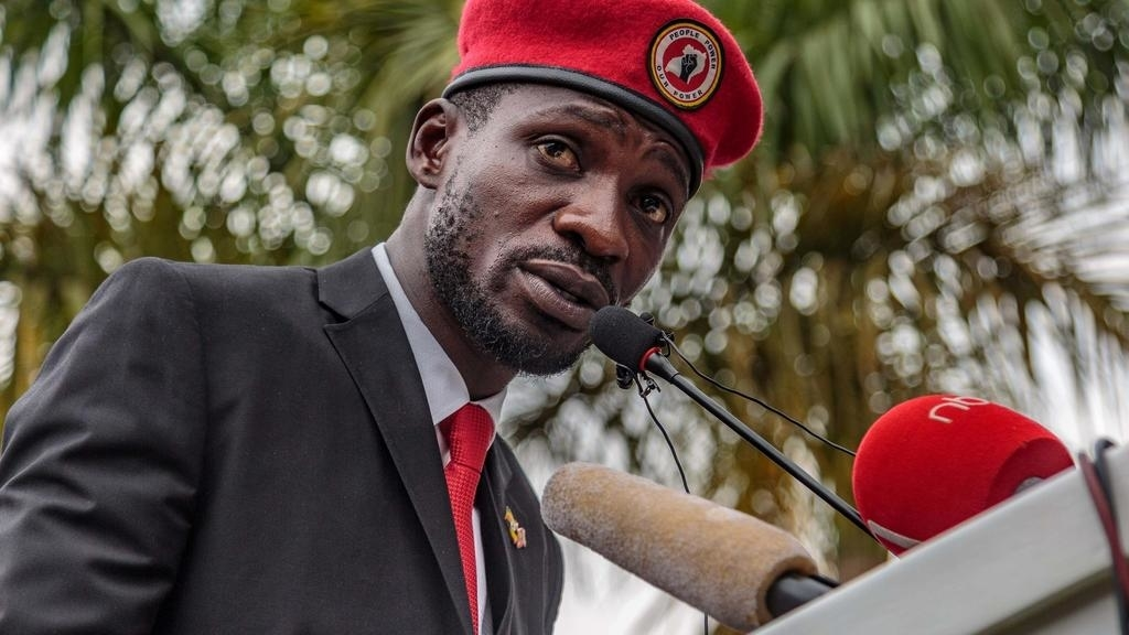 Kyadondo East MP Robert Kyagulanyi alias Bobi Wine has lashed at government for allegedly killing his people to scare  him off the presidential campaign. (PHOTO/File)