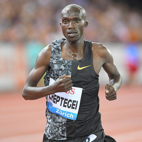 Joshua Cheptegei won the Men's 10000 metres. (PHOTO/File)