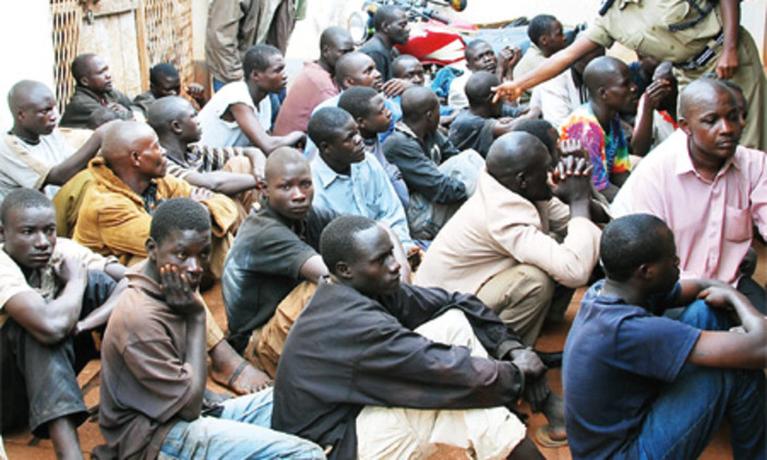 Several have been arrest over idle in Kabale (PHOTO/File)