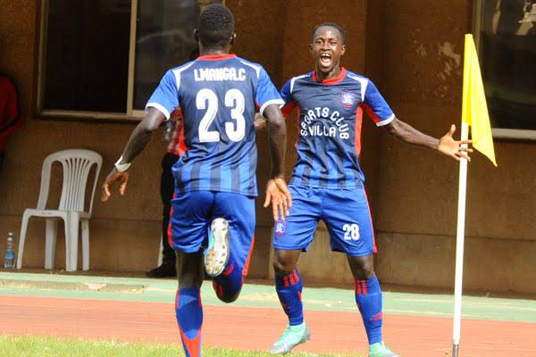 Pius Wangi (28) scored 6 goals for SC Villa last season. (PHOTO/Courtesy)