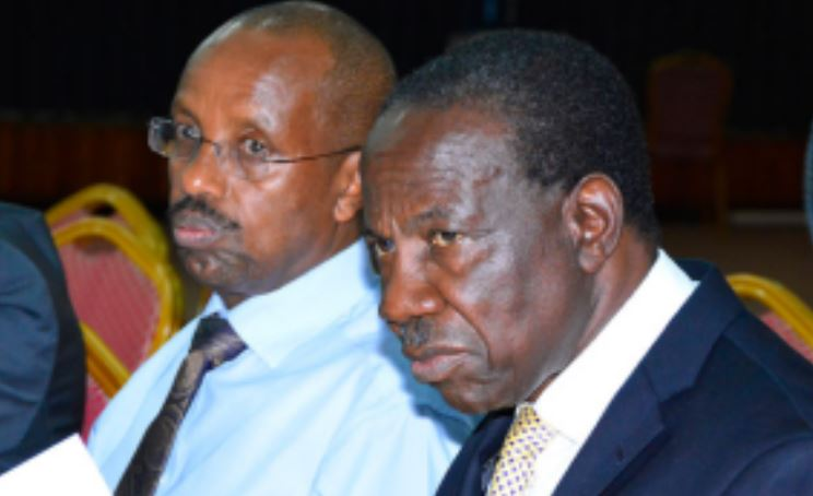 Finance Minister Matia Kasaija and Permanent Secretary, Keith Muhakanizi. (PHOTO/File)