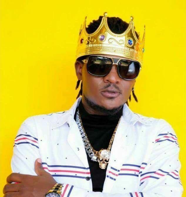 Ugandan singer Kinger Micheal warming up for a comeback concert. (PHOTO/File)